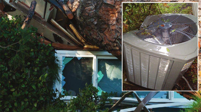 Ac Insurance Claim Air Conditioner Storm Damage Help